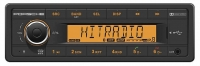 PORSCHE INSPIRED TR7412UBOR BLUETOOTH 1-DIN CAR RADIO
