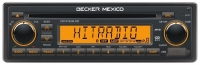 BECKER MEXICO INSPIRED CD7416UBOR CD PLAYER BLUETOOTH 1-DIN CAR RADIO