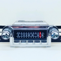 CAS SILVER-SERIES AM/FM RADIO CONVERSION : 1964-66 THUNDERBIRD (FORD)