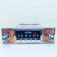 CAS PLATINUM-SERIES BLUETOOTH RADIO CONVERSION : JAGUAR INSPIRED (BURR WALNUT)