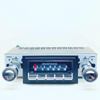 CAS CARBIDE-SERIES BLUETOOTH RADIO CONVERSION : 1969-1973 FORD MUSTANG (DELUXE VERSION)